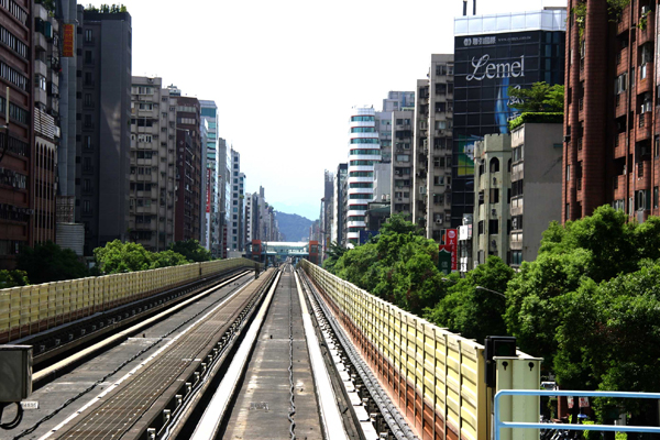 Urbanism and rail system, Taipei, Taiwan