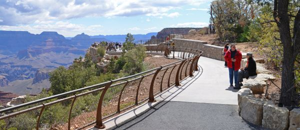 Mather Point ABA ramp, looking east