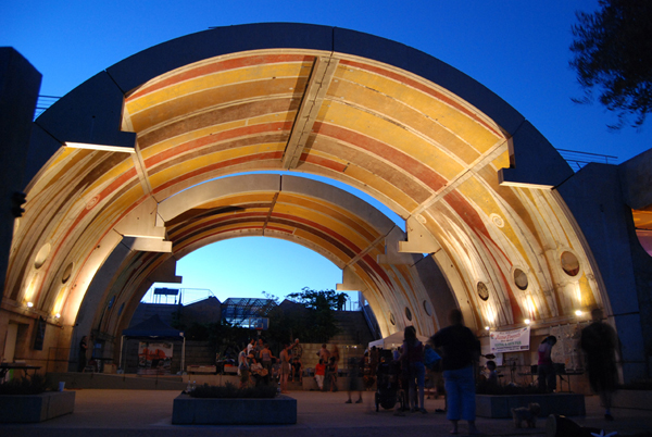 Arcosanti- the Vaults