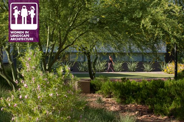Arizona State University Polytechnic Campus — New Academic Complex designed by Ten Eyck Landscape Architects, Inc., Phoenix