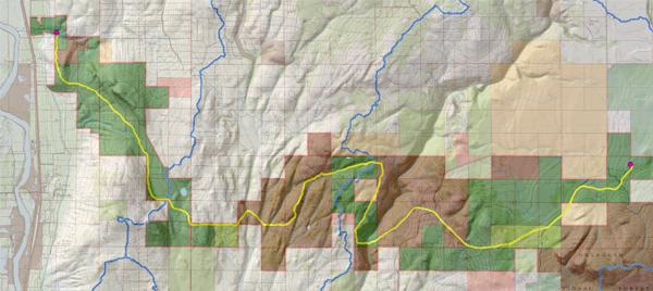 The inagural Paths Between Neighbors Route. image: Jones & Jones