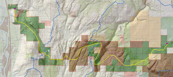 The inagural Paths Between Neighbors Route. image: Jones & Jones