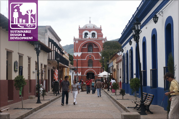 San Cristobal de las Casas in Chiapas, Mexico, is a thriving community dependent on a variety of economic ventures, including tourism. image: Catalina Ávila LaFrance