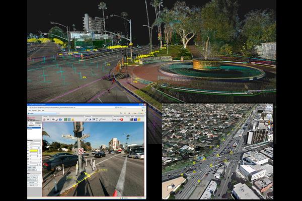 Santa Monica HD Laser Scanning image: Brian Laird, Rick Engineering