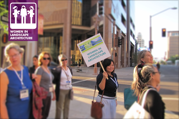 The WILA Walk at last year's Annual Meeting in Phoenix, Arizona. image: Emily M. O'Mahoney, ASLA, PLA, LEED AP, BD&C