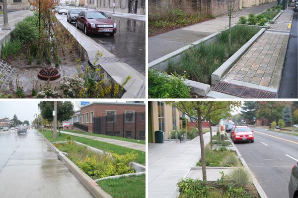 Top left: Milwaukee, WI, image: Robert Kuehn Top right: Bottom left: Bottom right: