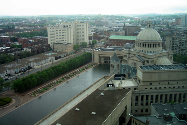 The trees growing in suspended pavement at the Christian Science Center are 46 years old.  image: Wally Gobetz via Flickr