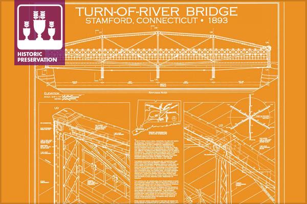 2013 Holland Prize Winner: Turn-Of-River Bridge (HAER CT-192), Stamford, CT image: Morgen Fleisig, delineator