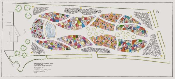Piet oudolf s garden for hauser wirth the field for Kingsbury garden designs
