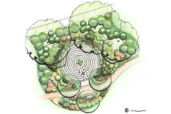 Healing Labyrinth For Cancer Support The Field