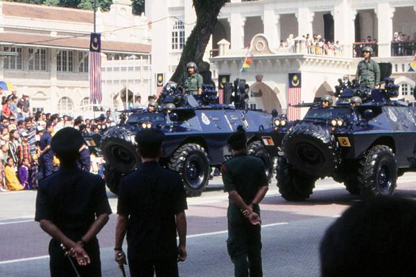 Merdeka (Independence) Day parade, Kuala Lumpur, Malaysia  image: Erik Mustonen