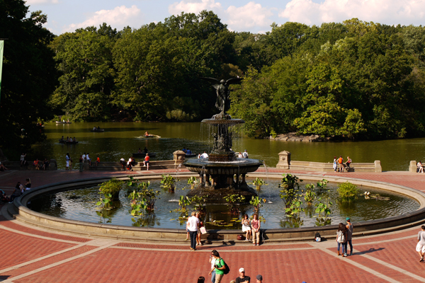 Bethesda Fountain in Central Park image: Deborah Steinberg, ASLA