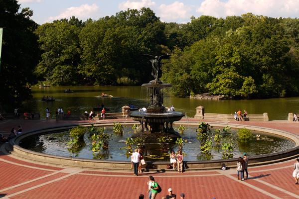 Bethesda Fountain in Central Park image: Deborah Steinberg, ASLA