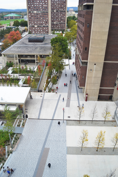University of Massachusetts Amherst's Southwest Concourse Revitalization image: Charles Mayer, Charles Mayer Photography