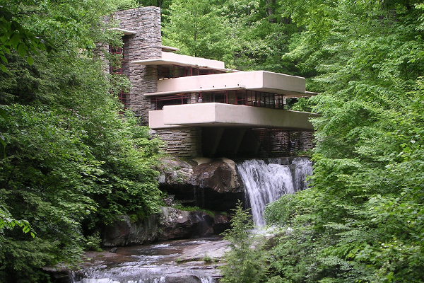 Fallingwater image: Rob Williams via Flickr