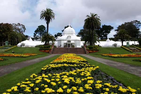 The Conservatory of Flowers in Golden Gate Park image: Alexandra Hay