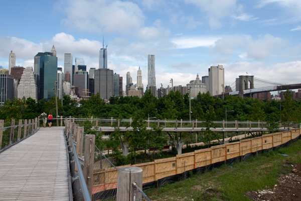Squibb Bridge to Brooklyn Bridge Park image: Alexandra Hay
