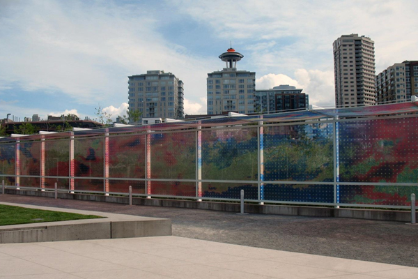 Olympic Sculpture Park, Seattle by Weiss/Manfredi Architects, along with Charles Anderson Landscape Architecture, Magnusson Klemencic Associates and other consultants, opened in 2007  image: Taner R. Ozdil, 2012