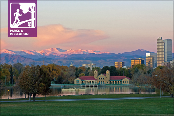 Morning in Denver's City Park image: mclcbooks via Flickr