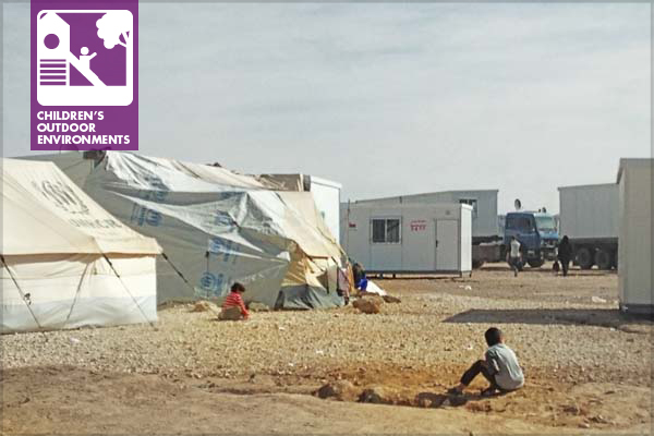 The Al-Za'atari refugee camp in Jordan; the picture illustrates the living condition in the camp. January 2014. image: Malda Takieddine