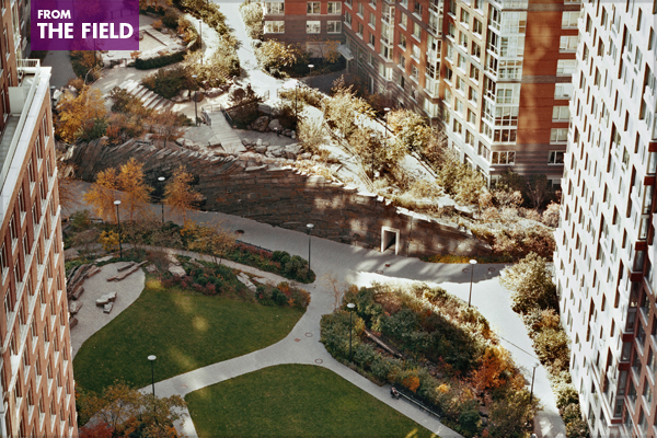 Teardrop Park – 2009 General Design Honor Award Winner image: Elizabeth Felicella