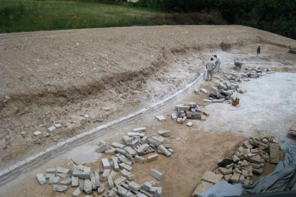 drystack wall under image chris miracle lannonstone retaining wall under image chris miracle