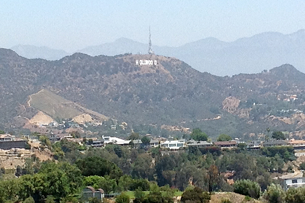 Hollywood sign image: Gary Lai