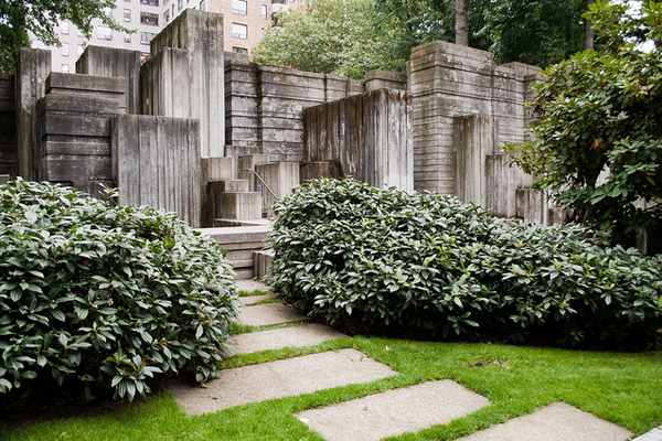 Seattle's Freeway Park image: Matthew Traucht, ASLA, via Flickr