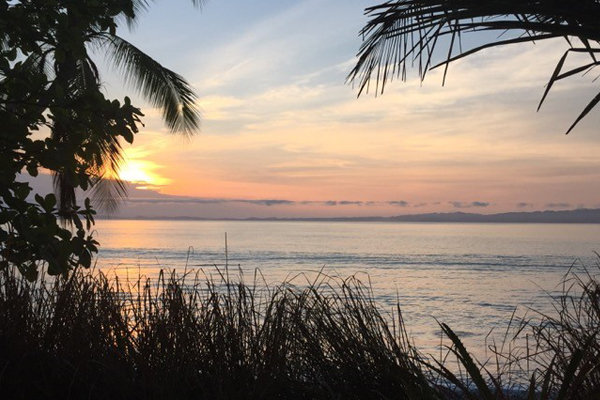 Sunrise on the Osa Peninsula, Costa Rica image: Lisa Bailey