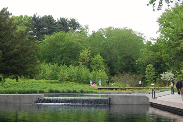 Image 10: New York Botanical Garden: Opening Day    image: Oehme van Sweden