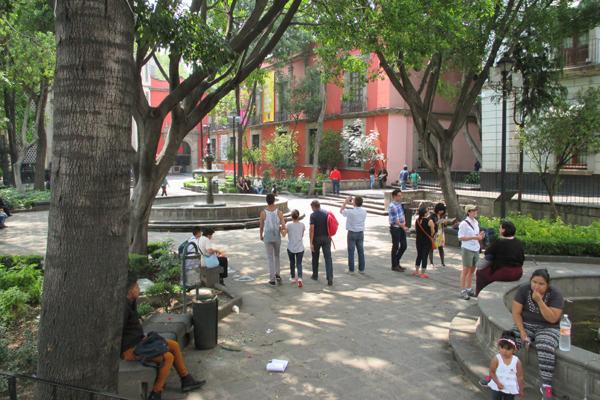 Plaza de la Santa Veracruz image: Erik Mustonen