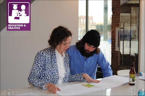 Architecture Design Workshop portfolio workshops for landscape architecture students – the field