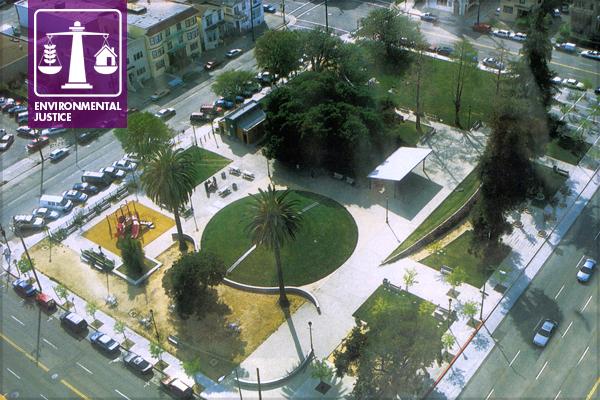 Lafayette Square Park, Oakland, CA image: Hood Design