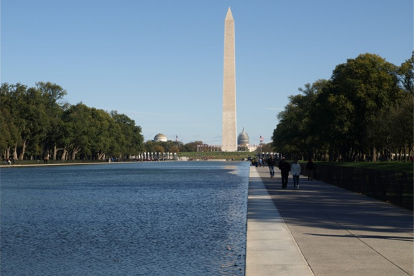 The National Mall, Washington, DC image: Alexandra Hay
