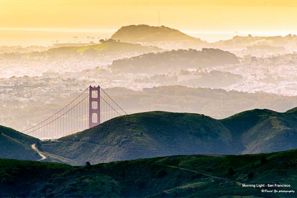 Morning Light - San Francisco image: David Yu via Flickr