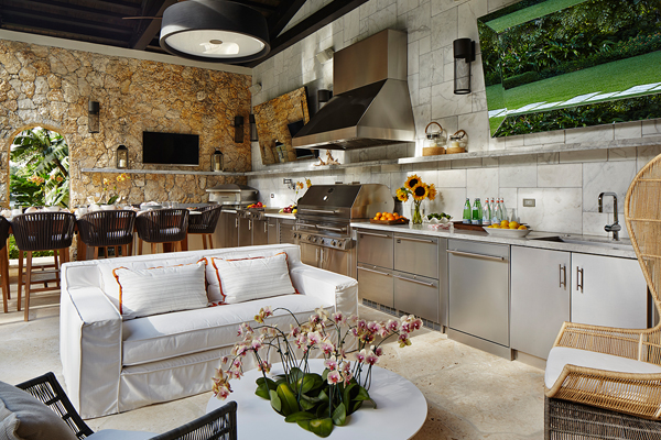 One Of The Key Elements To Good Outdoor Kitchen Design Is The Proper Amount  Of Counter