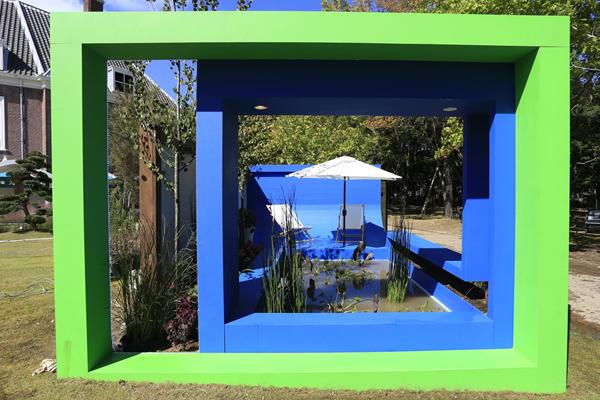 """Urban Pocket"" by Alex Bartlett and Robert Boltman of bsq. Landscape Design Studio from Canada image: Huis Ten Bosch"