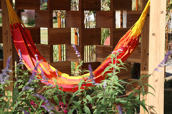 """Mexican Patio"" by Desiree Martinez, former president of IFLA image: Huis Ten Bosch"