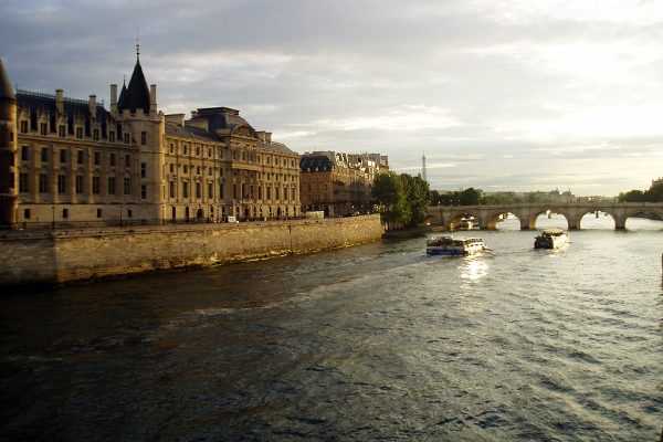 On the Seine in Paris image: Kaitlyn Hay