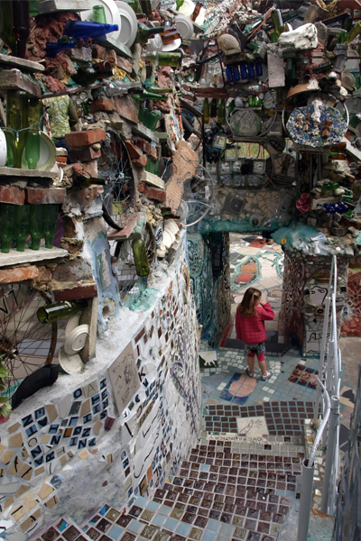 Philadelphia's Magic Gardens image: Alexandra Hay
