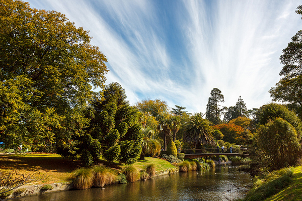 Christchurch Botanic Gardens image: Aidan via Flickr