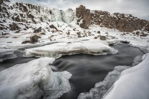 Öxarárfoss Waterfall in Þingvellir National Park, Iceland image: Diana Robinson via Flickr