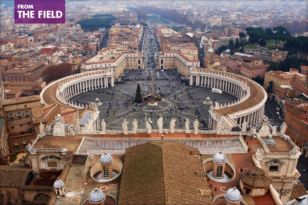 St. Peter's Square image: Alexandra Hay