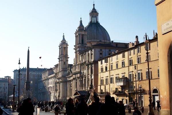 Piazza Navona, Rome image: Alexandra Hay