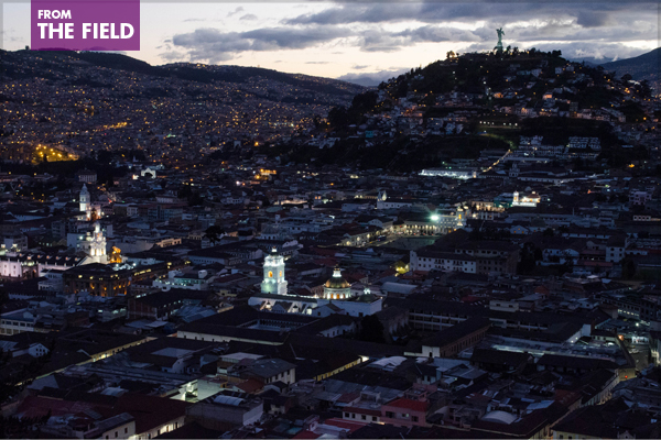 Quito, Ecuador, where Habitat III will take place in October 2016 image: ashokboghani via Flickr