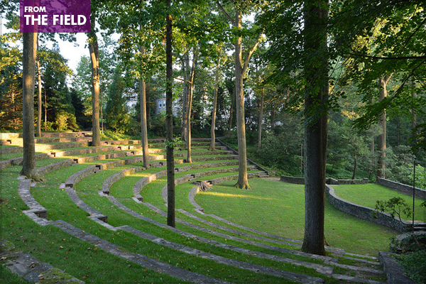 Scott Outdoor Amphitheater, Swarthmore College image: Simon via Flickr