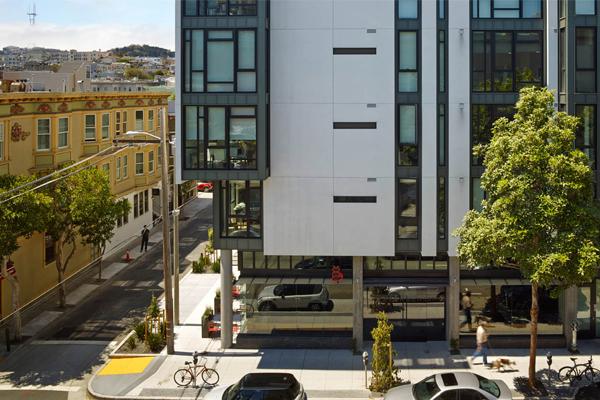 San Francisco, CA - 300 Ivy, 2015 Honor Award Winner, Residential Design Category image: Bruce Damonte