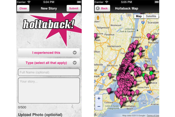 Hollaback app image: iTunes.apple.com
