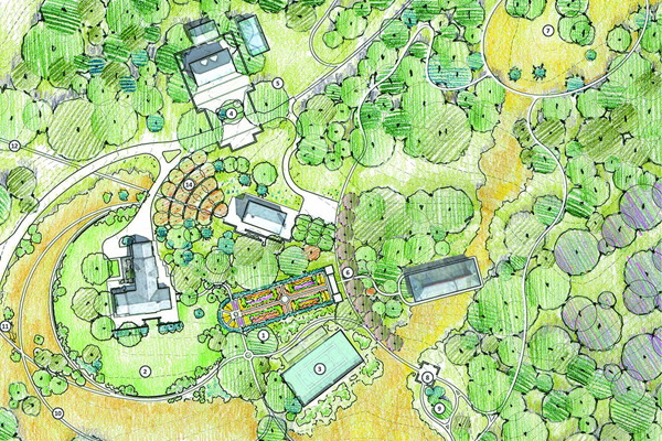 A Landscape Legacy - Master Planning a Cultural Landscape for Future Generations at Overlook Farm - 2015 Honor Award Winner, Analysis & Planning Category image: Nelson Byrd Woltz Landscape Architects