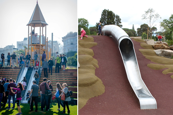 Joe DiMaggio Park, San Francisco image: Miracle Play Systems